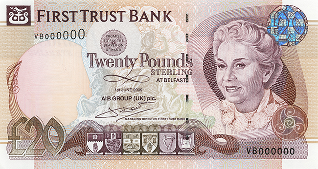 First Trust Bank £20 Note