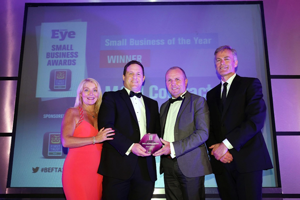 M&M Contractors at the Business Eye First Trust Bank Small Business Awards