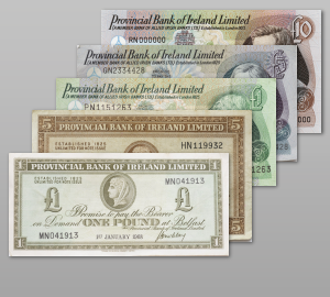 Provincial Bank of Ireland Limited Notes